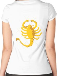 Drive_Scorpion Women's Fitted Scoop T-Shirt