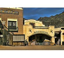 Rosa's Cantina At Old Tucson Photographic Print