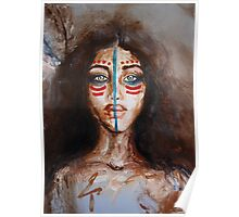 Face Painting Poster