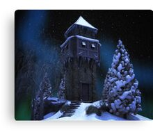 Winter Tower Canvas Print