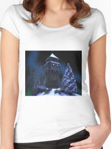 Winter Tower Women's Fitted Scoop T-Shirt