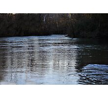 Stones River Sunset  Photographic Print