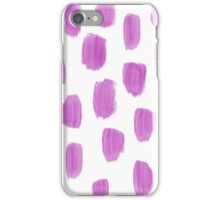 Handpainted Brush Texture iPhone Case/Skin