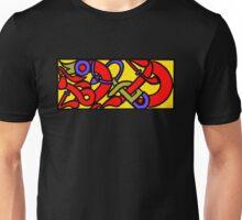 Anglo Saxon Knotwork Serpent Unisex T-Shirt