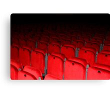 Red Seats Canvas Print