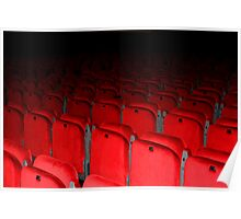 Red Seats Poster