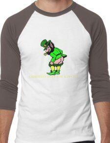 Corned Beef Or Kiss It! Men's Baseball ¾ T-Shirt