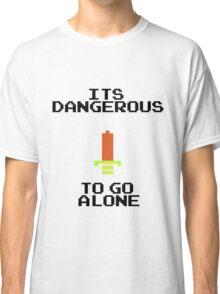 Zelda Sword Quote Classic T-Shirt