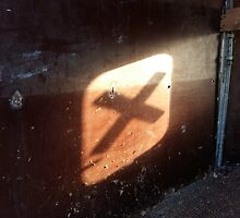 """Mysterious """"X"""" mark on the wall by Erik Murin"""