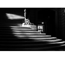 The light on the stairs of power – San Francisco City Hall Photographic Print
