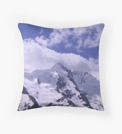 Austria, Grossglockner Throw Pillow