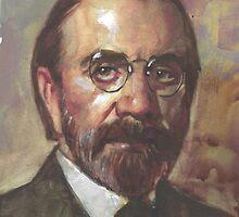 BJ  Palmer co-founder of chiropractic medicine   by Josef Rubinstein
