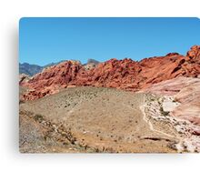 RED ROCK CANYON STATE PARK, NV Canvas Print