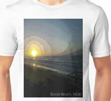 Bondi Beach Sunset Unisex T-Shirt