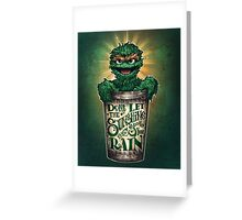 Don't Let The Sunshine Spoil Your Rain Greeting Card