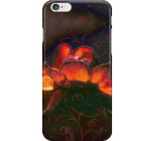 Flaming Ranuncula iPhone Case iPhone Case/Skin