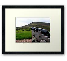 Tiny Cannon Framed Print