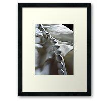 Dress Detail Framed Print