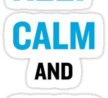 Keep Calm And Stop Kony Sticker