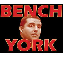 Bench York Photographic Print