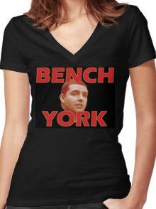 Bench York Women's Fitted V-Neck T-Shirt