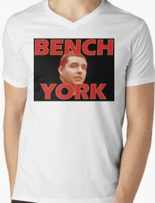 Bench York Mens V-Neck T-Shirt