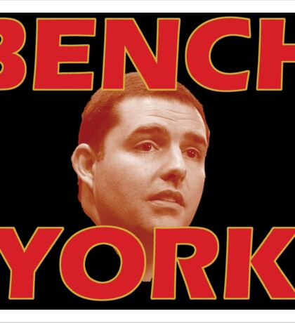 Bench York Sticker