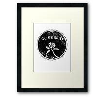 Rosebud Framed Print