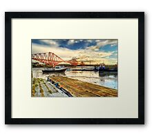 North Queensferry (Please View Larger) Framed Print