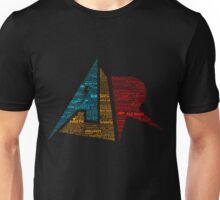 AJR typography - Solid Default Colours Unisex T-Shirt