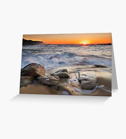 Golden Sand Greeting Card