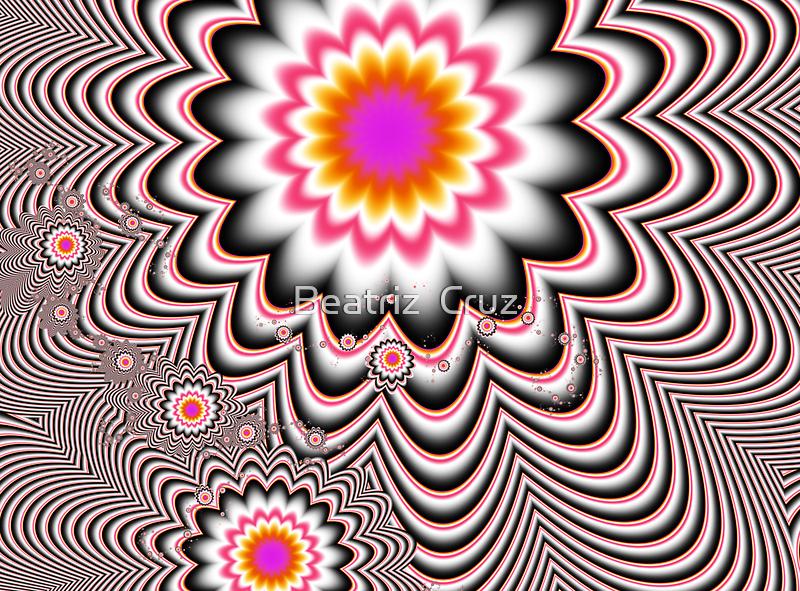 Hypnotizing Flowers  by Beatriz  Cruz