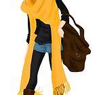 Yellow scarf  by Chantelle Janse van Rensburg