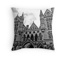 Royal Courts of Justice London Throw Pillow