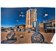 Adelaide Riverbank precinct Poster