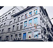 Rue Philippe de Champagne, Bruxelles, Belgium. Photographic Print