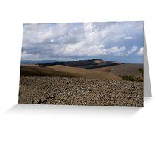 Tuscan Earth Greeting Card