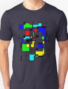Random Squares Unisex T-Shirt