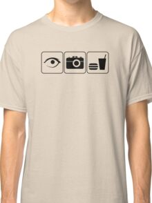 I Photograph Food Classic T-Shirt