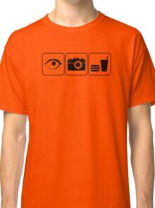 I Photograph Food Classic T-Shirt