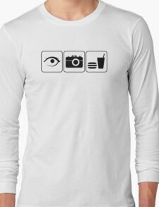 I Photograph Food Long Sleeve T-Shirt