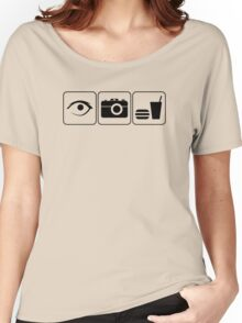 I Photograph Food Women's Relaxed Fit T-Shirt