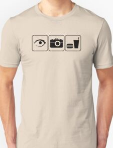 I Photograph Food Unisex T-Shirt