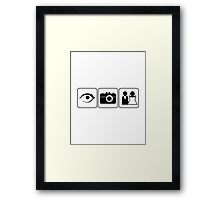 I Photograph Weddings Framed Print