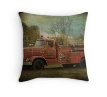 Where's the fire? (truck) Throw Pillow