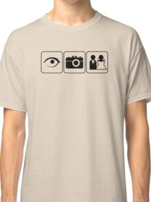 I Photograph Weddings Classic T-Shirt