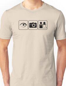 I Photograph Weddings Unisex T-Shirt