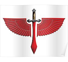 Winged Red Sword - Special Edition Poster