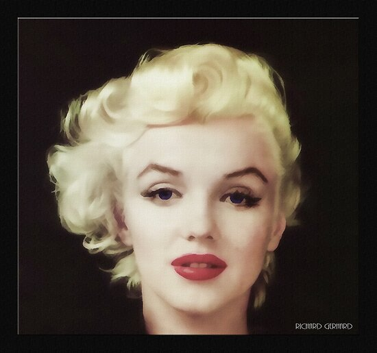 Marilyn in Oil by Richard  Gerhard
