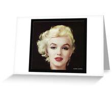 Marilyn in Oil Greeting Card